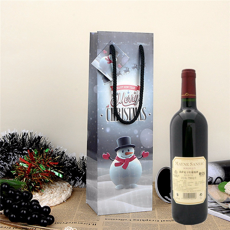 merry christmas party home decoration wine bottle gift bag toys for rh banggood com