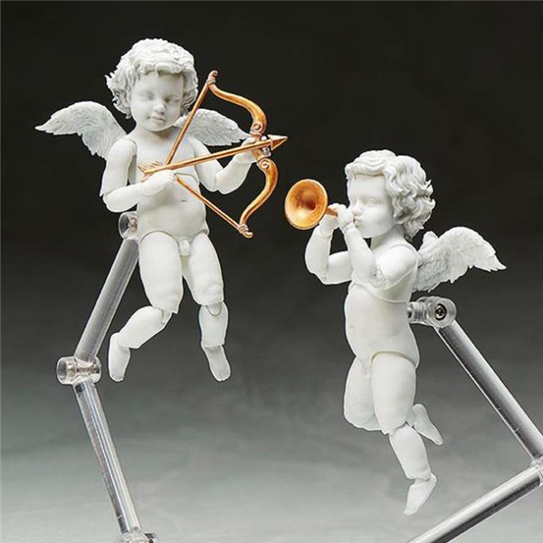Figma The Table Museum Angel Statue Cupid Doll PVC Action Figure Collection Model Doll Toy