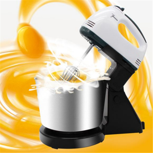220V 100w Whisk Electric Mixer Electric Blender Mixing Tool With Bowl EU Plug