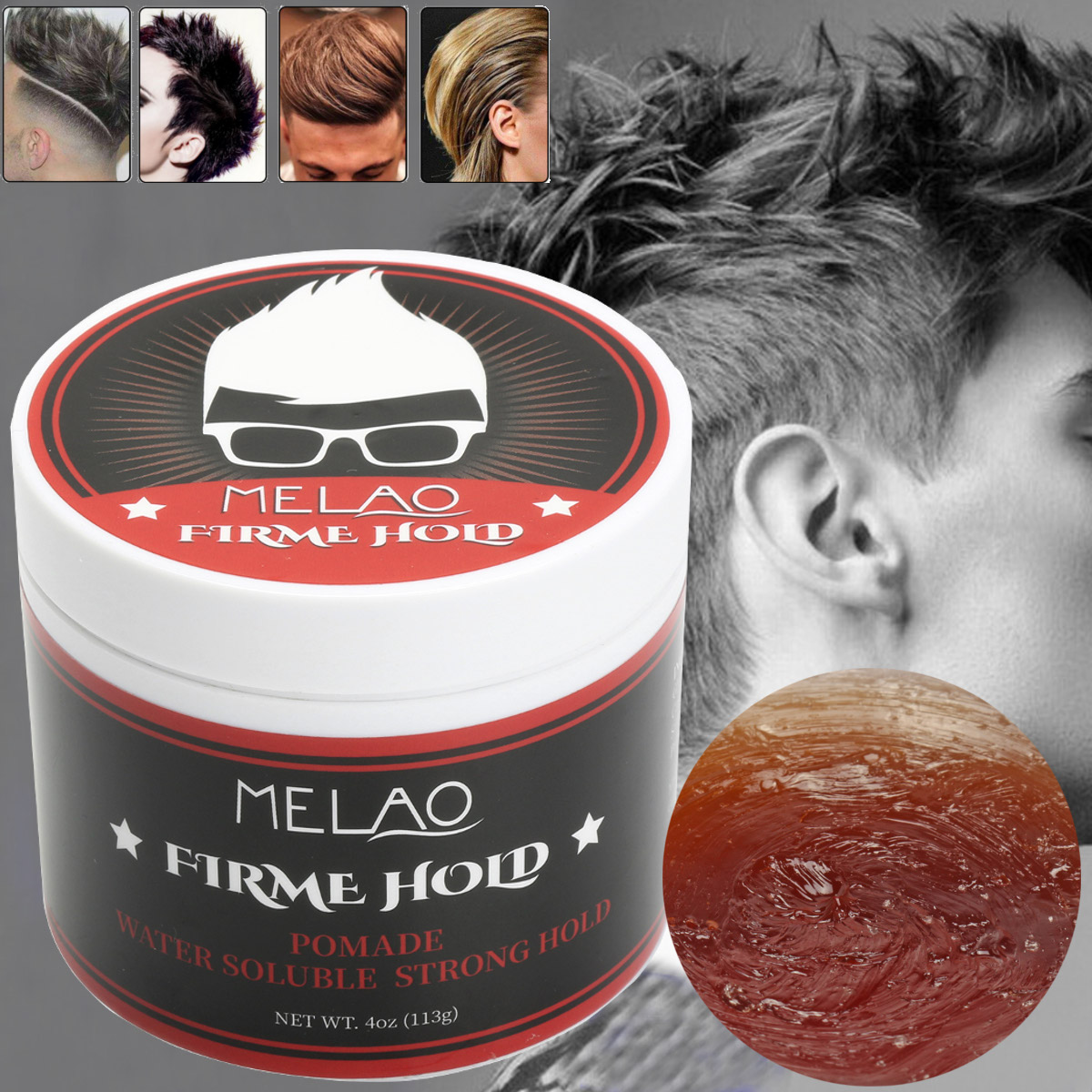 MELAO Hair Wax Cream Pomade Styling