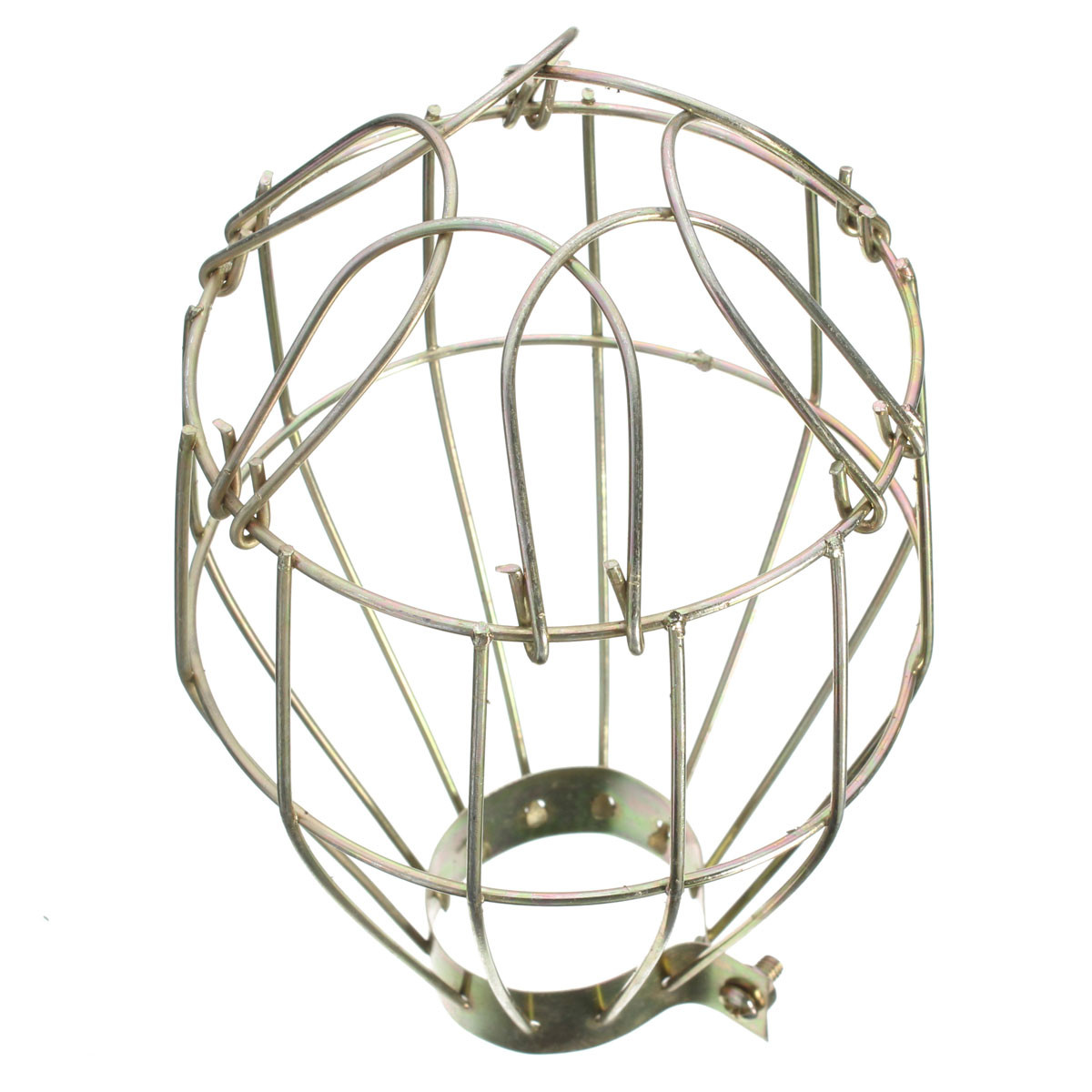 Retro Metal Bulb Guard Clamp On Metal Lamp Cage Vintage Lamp Shades Home Cafe Bar Decor
