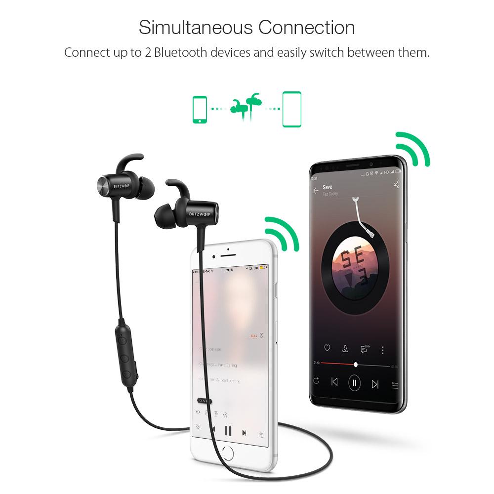 Blitzwolf Bw Bts1 Sport Bluetooth Earphone Headphone Ipx4 Technology Shipping Methods