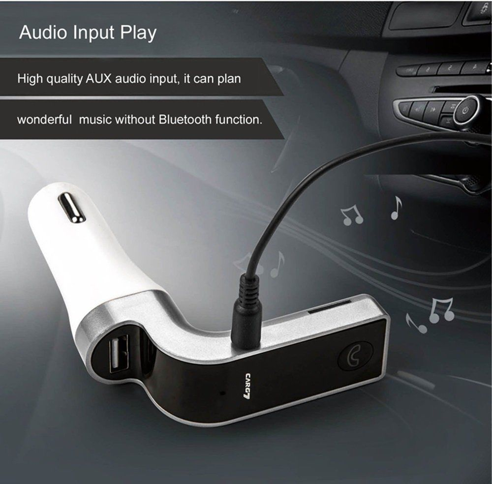 Car FM Transmitter Bluetooth Hands-free LCD MP3 Player Radio Adapter Charger Kit