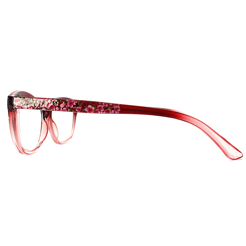 Women Ultra Light Resin Cat Eye Reading Glasses