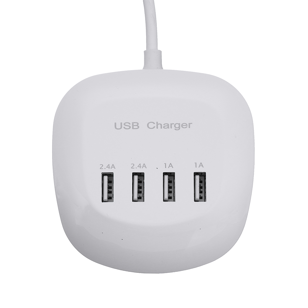 4 Port USB Charger 1A/2.4A Fast Charger Station Home Travel Wall Socket US/EU Plug