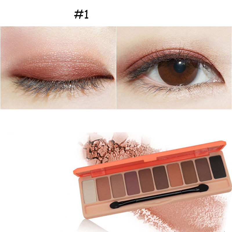 10 Colors Eye Shadow Palette Set