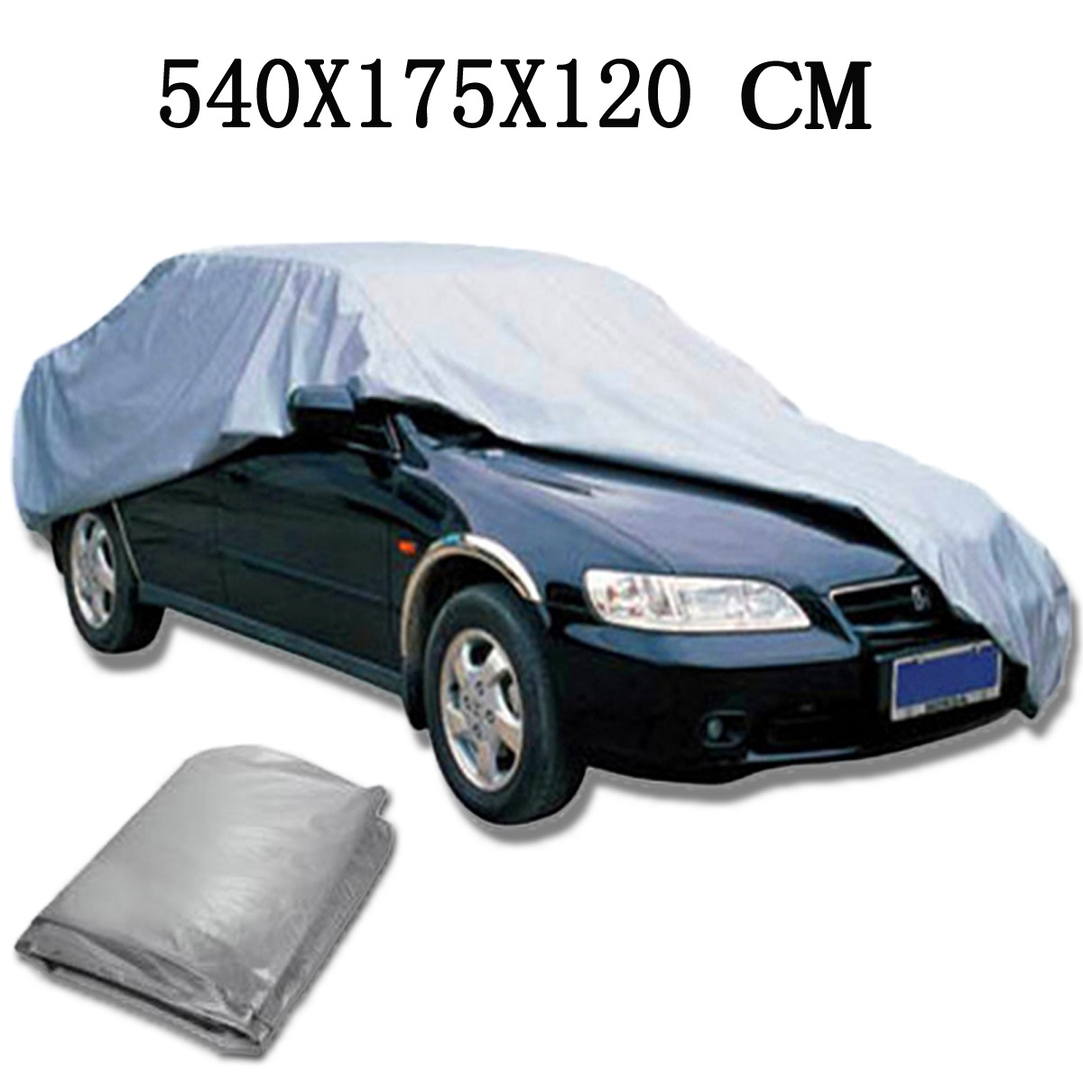 XL 540x175x120 cm Canvas Car Cover Waterproof Anti-scratch Protector Universal
