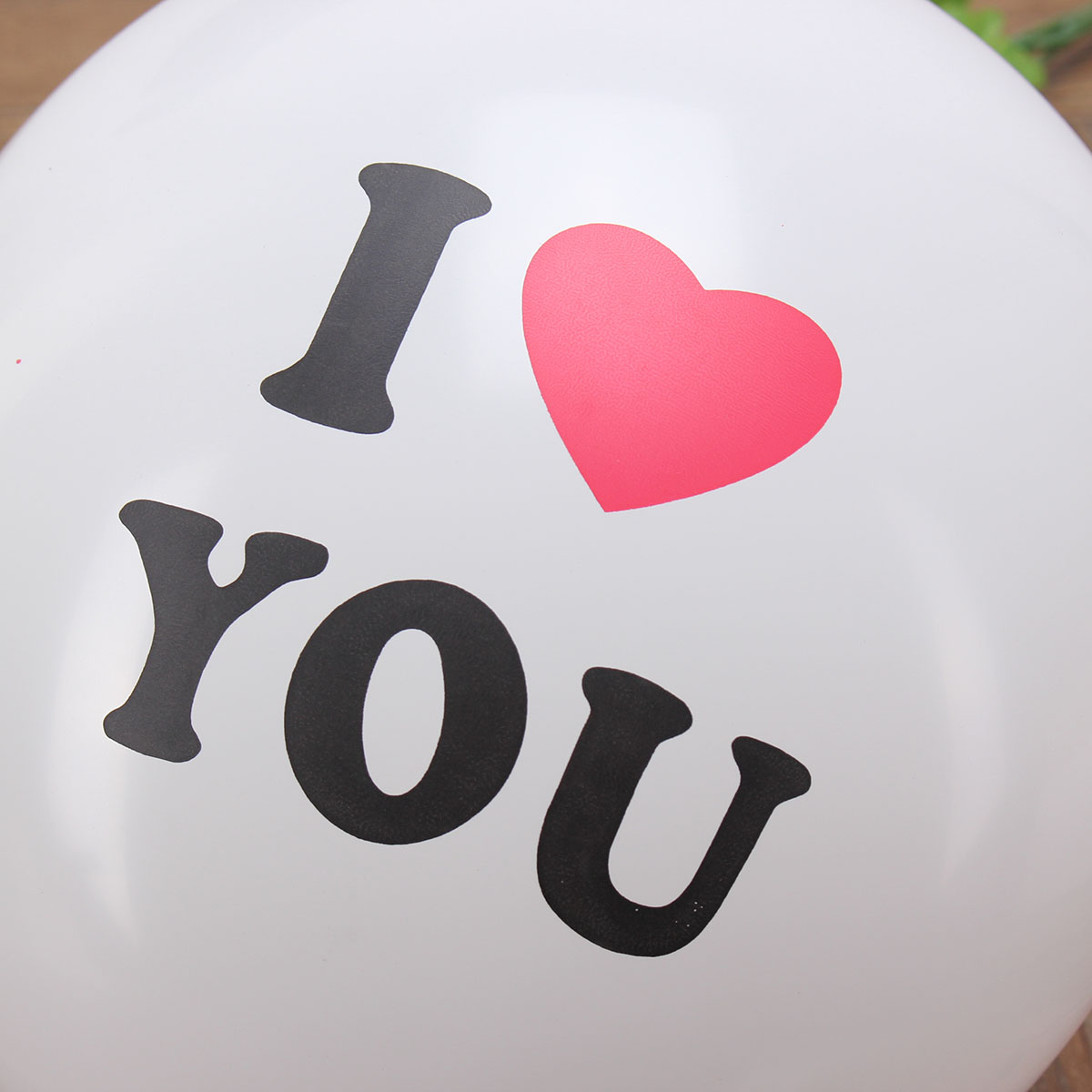 10pcs I LOVE YOU Latex Balloon Balloons Valentine Proposal Wedding Party Decoration