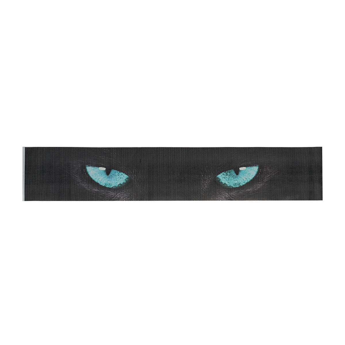 Cat Eye Car Front Rear Windshield Stickers Perspective Sunshade Sun Shade Decorative Decal