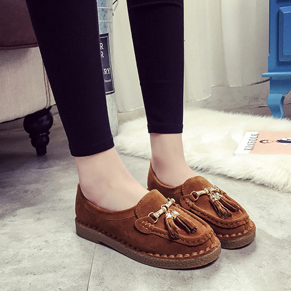 Casual Round Toe Loafer Shoes