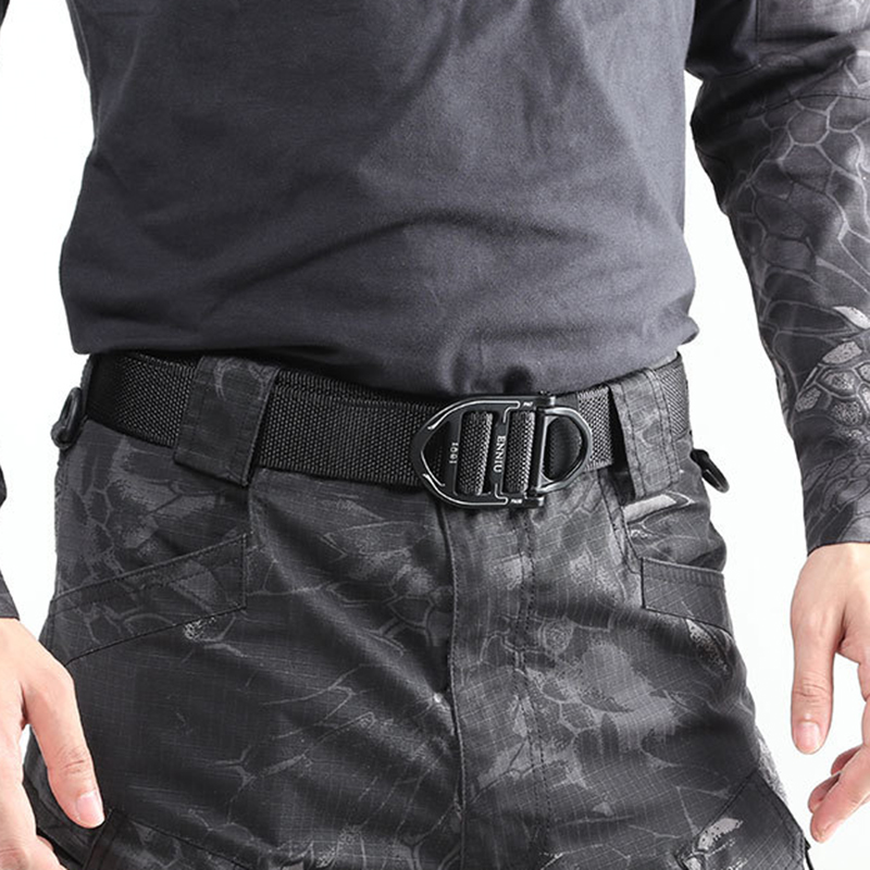 125CM ENNIU Nylon Tactical Belt with Ring Buckle