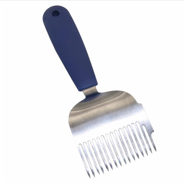 16 Pin Stainless Steel Tines Comb Uncapping Fork Scratcher Beekeeping Honey Tools