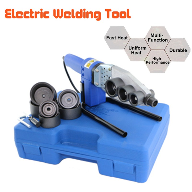 Automatic Electric Heating Hot PPR PE PB Tube Pipe Welding Set Machine Kits Tool