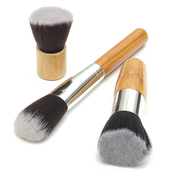 10Pcs Makeup Cosmetic Brushes Set Kit Powder Foundation Eyeshadow Blusher Brush