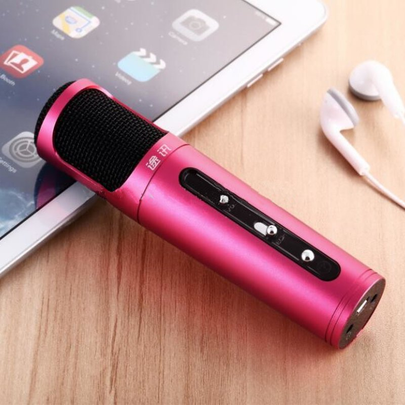 Personal Portable Karaoke KTV Microphone For iPhone iOS/Android/Windows