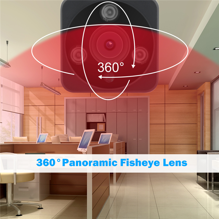 960P Panoramic IP WiFi Night Vision Camera Outdoor Support AP Hot Spot ONVIF Third-party NVR