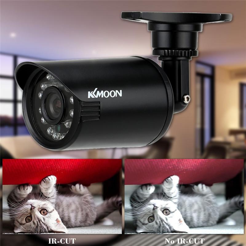 KKMOON S597 800TVL Waterproof CCTV Security Camera IR Color Night Vision IR-CUT PAL System Camera