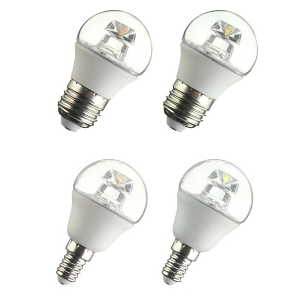 E27 G45/E14 P45 LED Bulb 100-240V 5W COB Light Globe Lamp