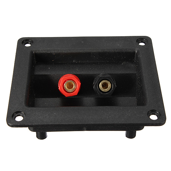 Square Binding Post Type Speaker Box Terminal Cup Wire Connector Board