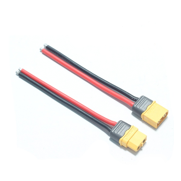 AMASS XT60+ Plug Connector 14AWG 10cm Power Cable Wire