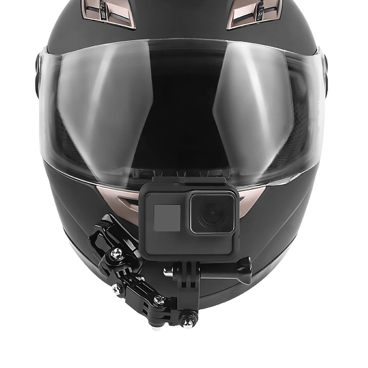 Adhesive Full Face Helm Front Kinnhalter für Sjcam / Antshares / Gopro Hero 6 5 4 3 Aktion Kamera
