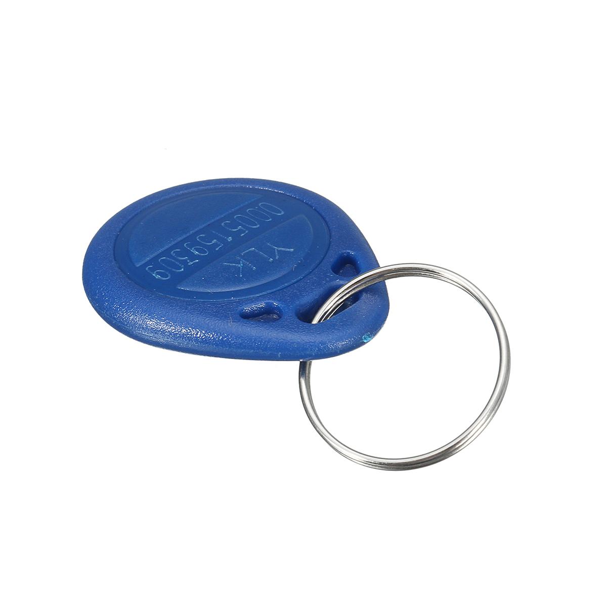 5Pcs ID Keyfbobs RFID Tag Key Ring Card 125KHZ Proximity Token Access Control Attendance TK4100