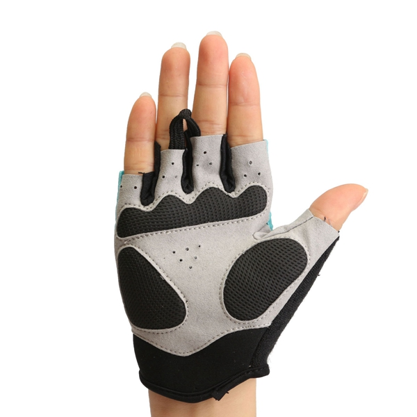 Half Finger Gloves Motorcycle Bicycle Riding Cycling Summer Spring For QEPAE QG055