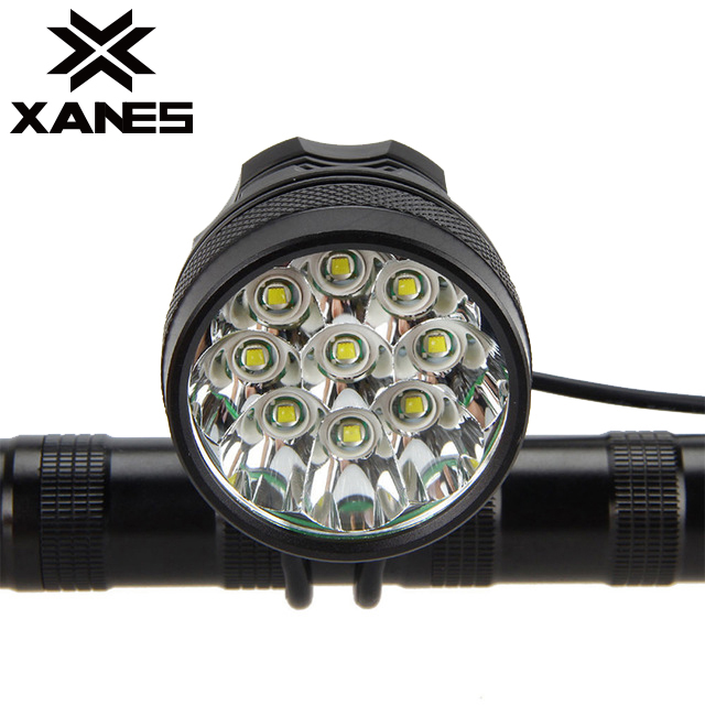 XANES ML02 4500LM 9T6 Super Bright Mountain Bike Light IP65 Waterproof Intelligent Circuit Control
