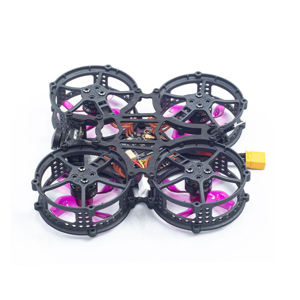 Diatone Hey Tina Whoop163 86mm Betaflight Mamba F4 AIO 13A ESC 2-3S Dcuted FPV Racing Drone RTF w/ Runcam Nano 2 Camera & Radiolink T8S Radio Transmitter