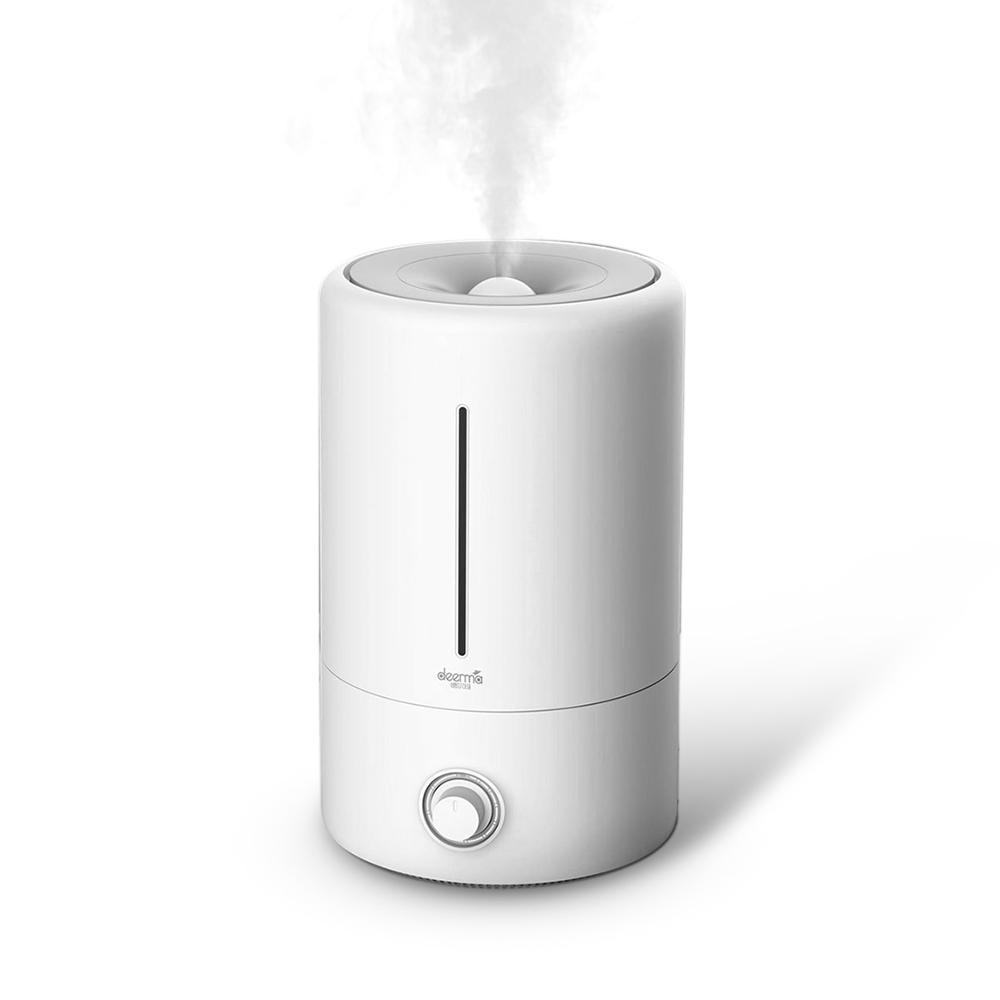 XIAOMI Deerma DEM-F628 5L Air Humidifier Mute Ultrasonic Aroma Diffuser Household Mist Maker Fogger Purifying Humidifier Oil