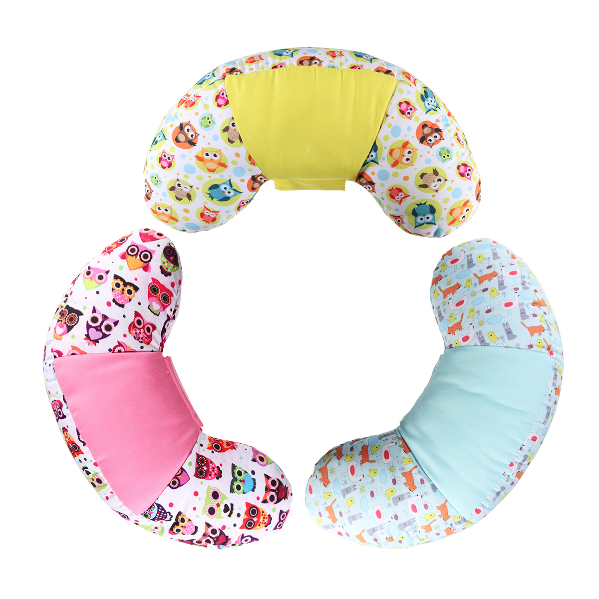 Car Kid Protect Neck Headrest Sleep Pillow Children Safety Seat Belt Shoulder Universal Pads