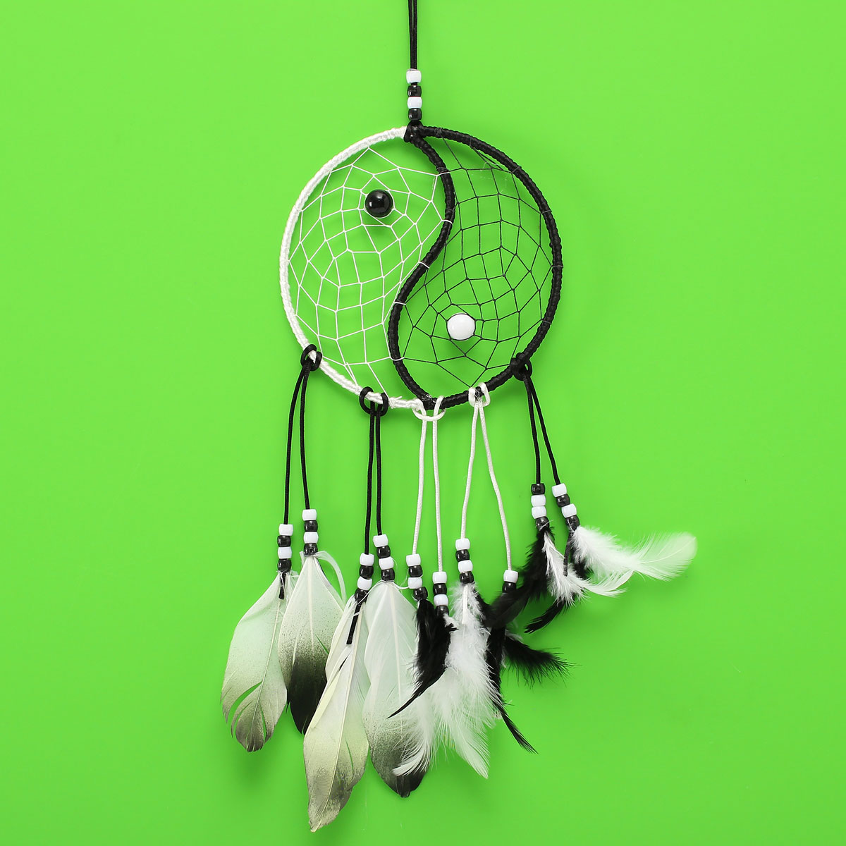 Dreamcatcher Chinese Taiji Dream Catcher Room Wall Window Hanging Ornaments Decoration Decor Gifts