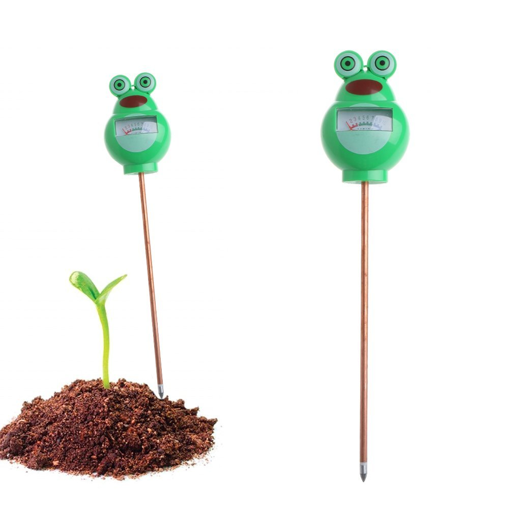 Garden Frog Beetle Soil Moisture Tester Plant Flower Humidity Detector Outdoor Lawn Testing Tool
