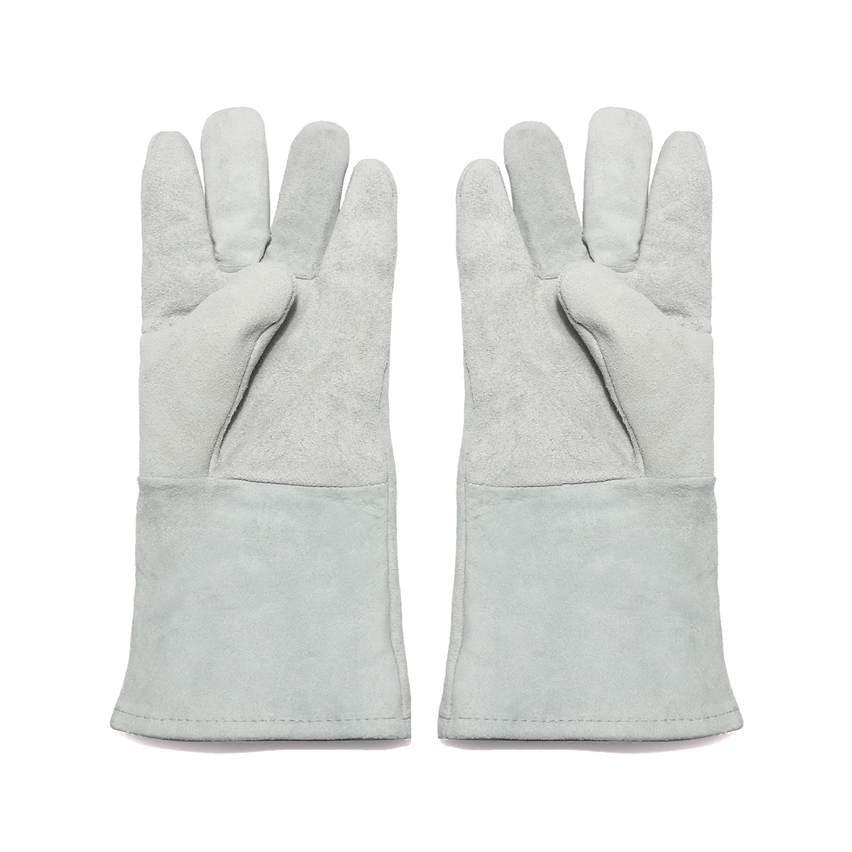 13 14 Inch Heat Resistant Melting Furnace Welding Gloves Weld Refining Casting Gold Silver