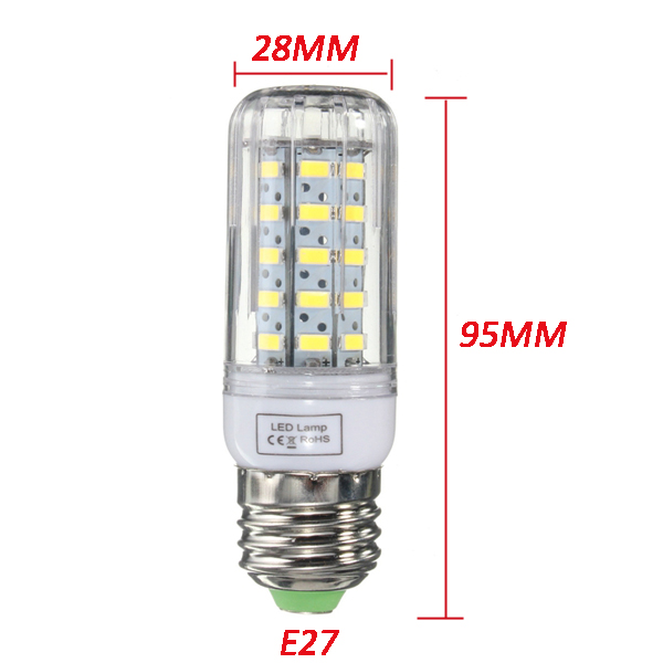 E27/E14/E12/B22/G9/GU10 Dimmable 5W AC110V LED Bulb White/Warm White 50 SMD 5730 Corn Light Lamp