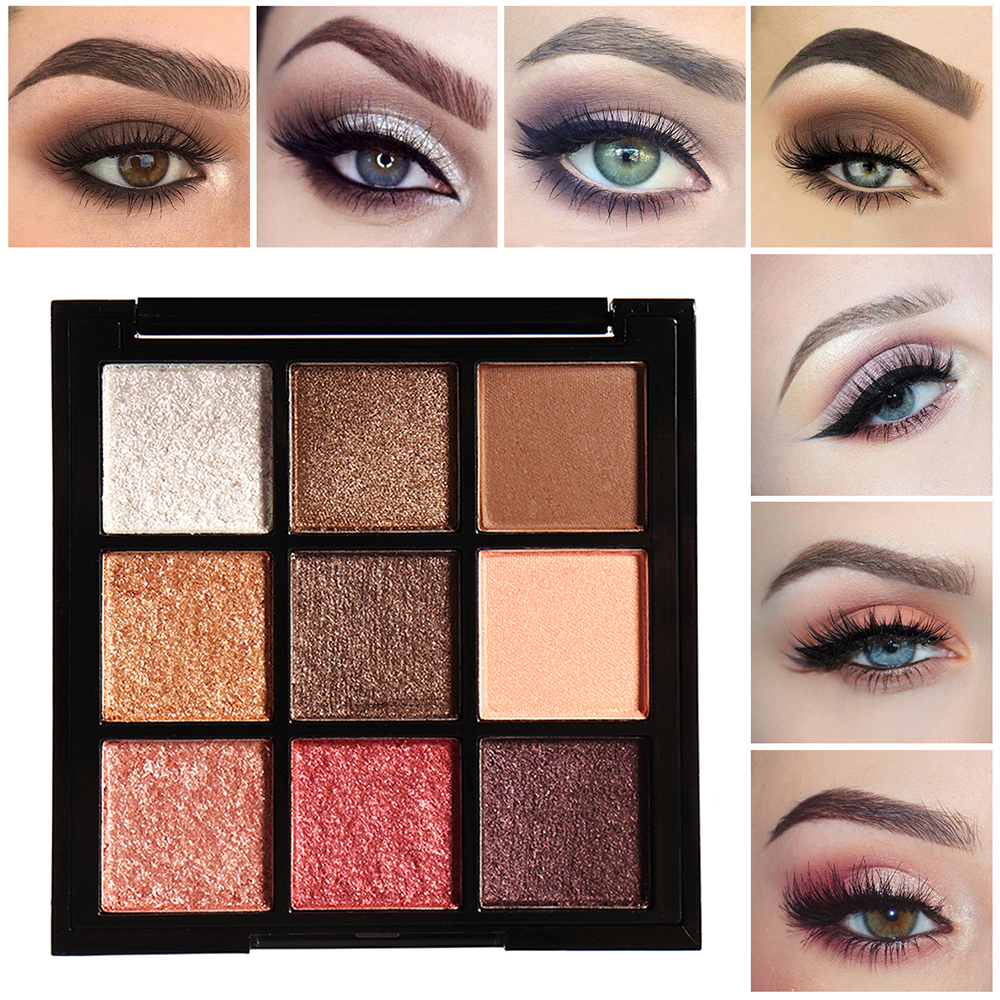 4 Colors Smoky Eye Shadow Palette