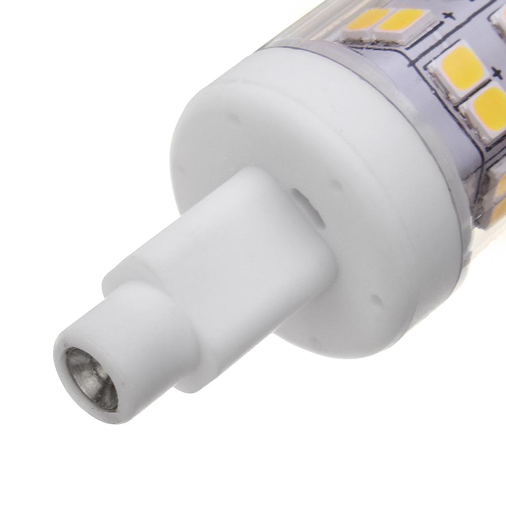 R7S 118MM 10W SMD2835 Warm White Pure White No Stroboscopic LED Corn Light Bulb AC85-265V