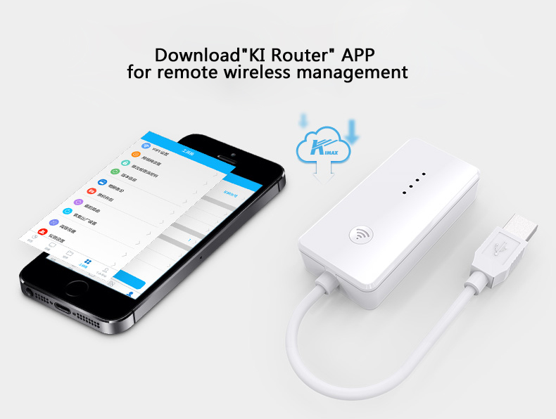 Blueendless BS-HC3WF USB 2.0 Expansion Device Wireless WIFI Repeater Data Transfer Card Reader