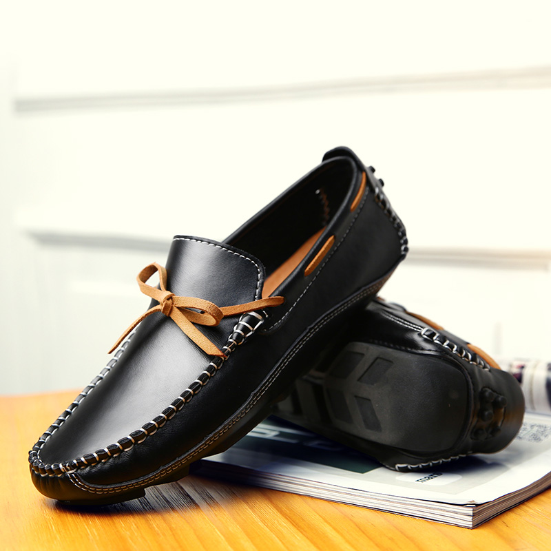 Men Casual Genuine Leather Loafers