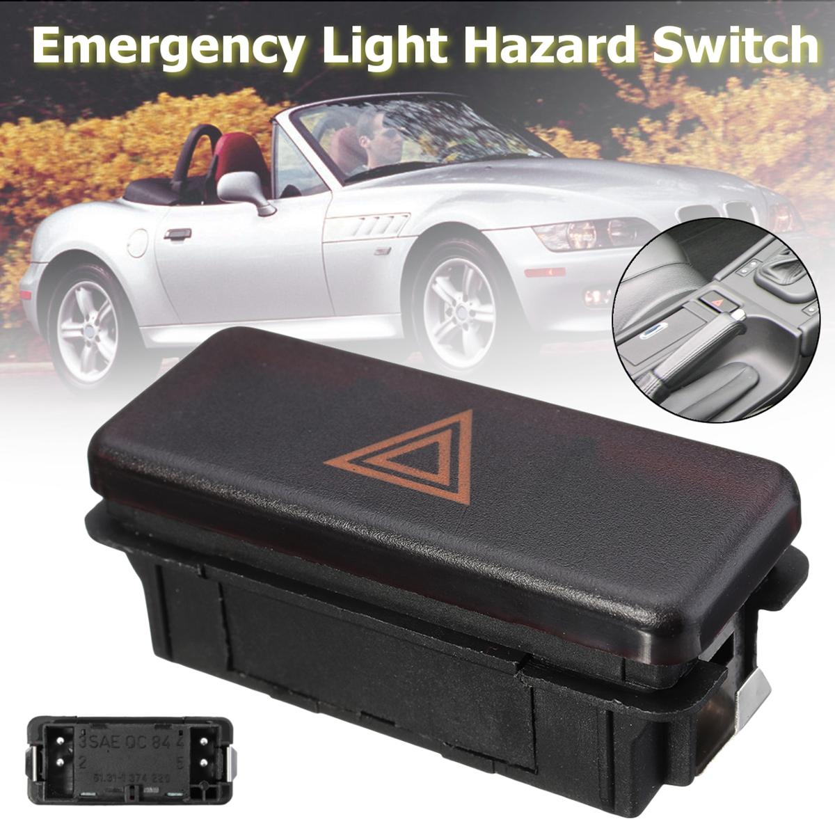 Car Emergency Light Switch Hazard Lamp Switch For Bmw 3 5