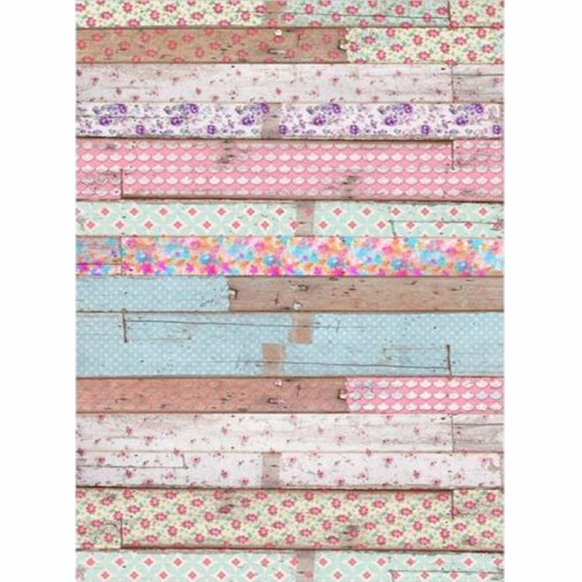 5x7FT Vintage Colored Wooden Wall Vinyl Photography Background Backdrop Prop