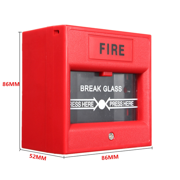 Emergency Door Release Glass Break Fire Alarm Button for Access Control System