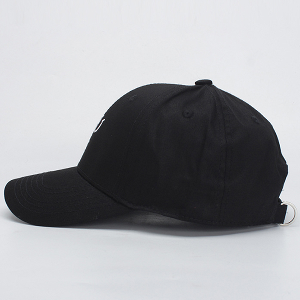 Canvas Letter Embroidery Sun Peaked Cap Sport Baseball Caps