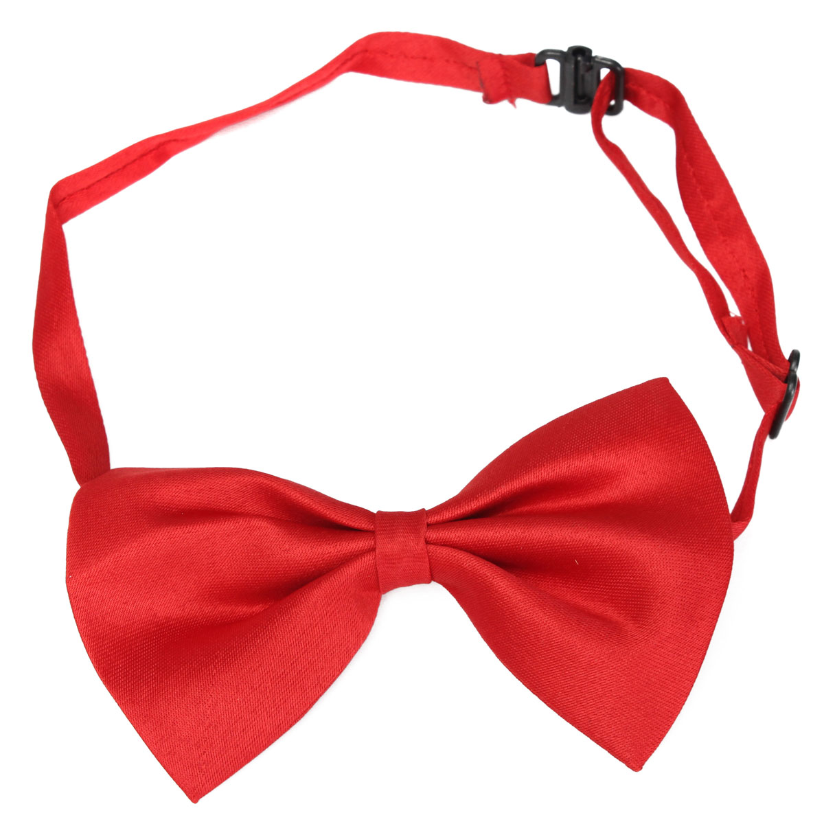 Kids Child Adjustable Pre Tied Satin Bow Tie Bowtie Wedding Party Dress Up