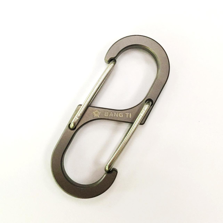 BANG TI K55 Titanium Quick Release Keychain Key Clip key Hook