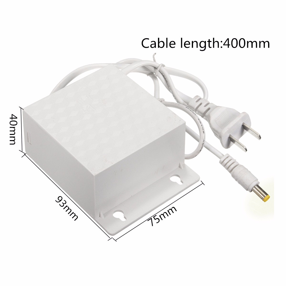 12V 2A AC Adapter Power Supply Outdoor Waterproof 3.5mmx1.3mm For CCTV