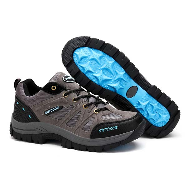 US Size 6.5-12 Men Hiking Lace Up Outdooors Light Weight Sport Running Shoes