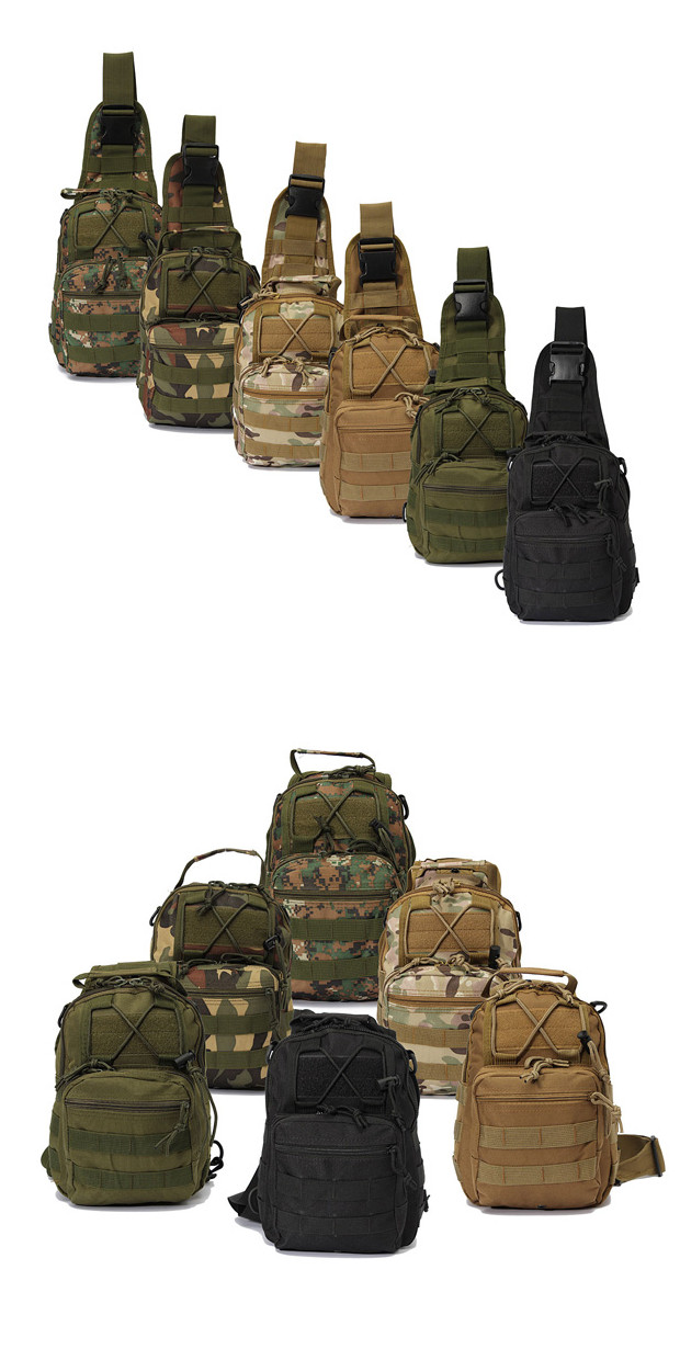 Outdoor Backpack Single Shoulder Rucksack Camping Hiking Hunting Travel Bag