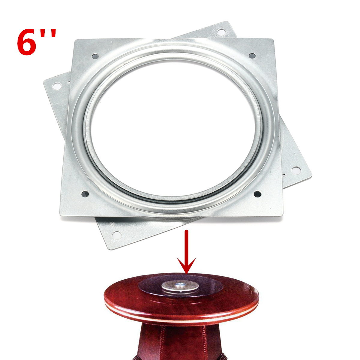 Metal Lazy Susan Turntable Bearing Rotating Plate Machinery Parts