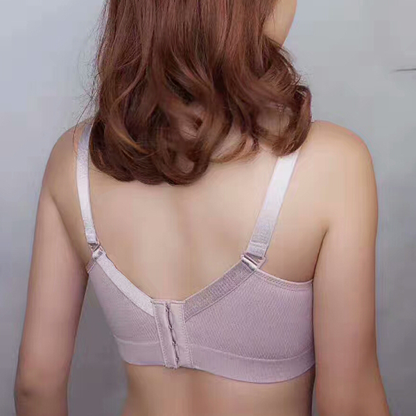 Women Mesh Lace Breathable Wireless Soft Comfy Bra